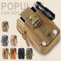 $enCountryForm.capitalKeyWord NZ - 2018 New Style Universal Outdoor Tactical Holster Military Molle Hip Waist Belt Bag Wallet Pouch Purse Phone Case with Zipper For Cell Phone