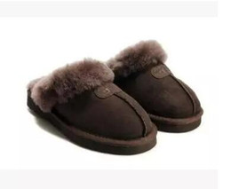Warm slippers online shopping - High quality Australia WGG Warm cotton slippers Men And Womens slippers Short Boots Women s boots Snow boots slippers Leather boot