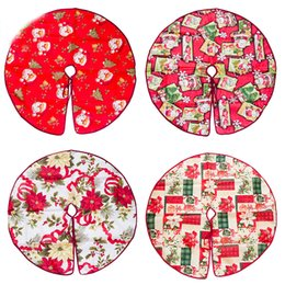 $enCountryForm.capitalKeyWord Canada - Christmas Decorations Trees Skirts Santa Claus Round Red Christmas Tree Skirt For Holiday Party Supplies Home Ornaments