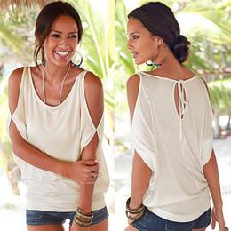 $enCountryForm.capitalKeyWord NZ - Summer 2018 Casual Women Beach T-Shirt O-Neck Batwing Short Sleeve Shirt Loose Puls Size Women Clothes Knitted Cotton Ladies Top