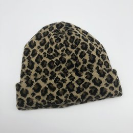 Chinese  [EWQ] 2018 New Fashion Autumn Winter Women Sexy Beret Vintage Leopard Printed Hat Beanie Cap Ladies Girls Casual Hats OC174 manufacturers