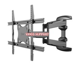 Loctek Plasma flach versenkbare LCD-Halterung TV-Halterung Wandhalterung Wandständer verstellbarer Arm Fit für 32