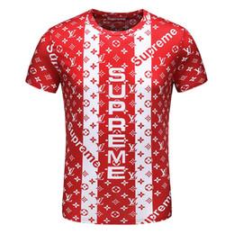 Types prinTing shirTs online shopping - Italian brand popular love fashion brand alphabet printed T shirt color bar type
