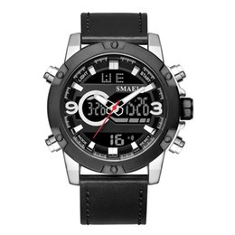 $enCountryForm.capitalKeyWord Australia - New Stainless Watch Quartz Watches SMAEL 2018 Alloy Men Watch Big Dial Digital Alarm Clock 1320 Quartz Sport Watches Waterproof