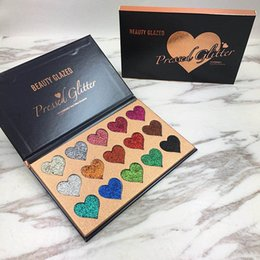 light pink eyeshadow 2019 - Beauty Glazed 14 Color Makeup Eyeshadow Palette Shimmer Matte Pigmented Smokey Eye Shadow Pallete Long Lasting Make Up S