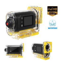 $enCountryForm.capitalKeyWord NZ - Mini Waterproof Underwater Action Video Camera 1080 HD Bike Motorcycle Sports WIFI Helmet Cam Pro Extreme Sport Cam