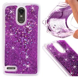 Wholesale Glitter Products Australia - For LG K10 2018 Motorola MOTO E5 Samsung Galaxy S9 PLUS Fashion Glitter water Liquid Quicksand Soft TPU High quality products Oppbag