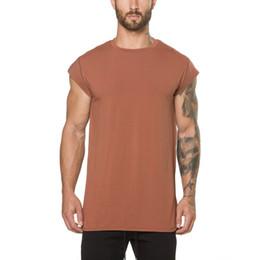 $enCountryForm.capitalKeyWord NZ - men's T Shirt Kanye West Extended T-Shirt Men's clothing Curved Hem Long line Tops Tees Hip Hop Urban Blank Justin Bieber Shirts