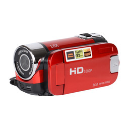 Tft Lcd Cmos UK - POLOSHARPSHOTS 2.7 inch TFT HD Digital Camera Video Camcorder Camera 1080P DV DVR 16X LCD Digital Zoom 16MP CMOS Digital Video