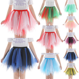 $enCountryForm.capitalKeyWord Australia - Womens High Quality Pleated Gauze Colours Short Skirt Adult Tutu Dancing Skirt Women Ball Gown Party Petticoat 2019 vestidos