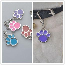 Cute Cat Charms online shopping - A34 cute Dog cat pendants Pet Dog metal pet pendants Collar Accessories