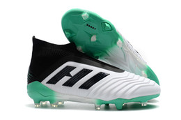 China Original Mens High Ankle Youth Football Boots Predator 18+x Pogba FG Accelerator DB Men Soccer Shoes PureControl Purechaos Soccer Cleats supplier youth boots suppliers