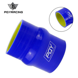 "Silicone Hose 51mm Australia - PQY - Blue&yellow 2"" 51mm Hump Straight Silicone Hose Intercooler Coupler Tube Pipe PQY-HSH0020-QY"