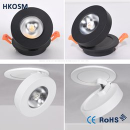 downlights sale NZ - Hot Sale CREE 6W led downlights Ceiling lamp Dimmable Warm White Nature White Pure White Recessed LED Spot Light AC85-265V