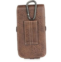 leather belt holster case Canada - for iPhone 7 Plus Holster PU Leather Holster Belt Card Cell Phone Case with Buckle for iPhone 8 Samsung Note 8 and More Phone under 6.3 inch