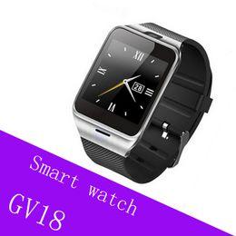 $enCountryForm.capitalKeyWord Australia - GV18 NFC A Plus Bluetooth Smart Watch Aplus Smartwatch Wearable Wristwatch Call Reminder Remote Camera For iPhone Samsung Smartphone
