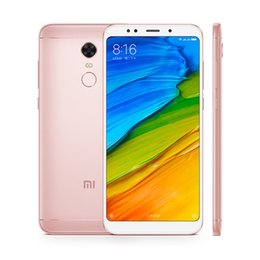 $enCountryForm.capitalKeyWord NZ - Original Xiaomi Redmi 5 Plus 32GB ROM 3GB RAM Snapdragon 625 Octa Core 4G LTE Mobile Phone 5.99inch 12.0MP Fingerprint ID 4G LTE Cell Phone