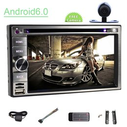 gps hands free NZ - Car GPS Navigation in Dash Headunit 6.2'' Capacity Screen Double Din Quad Core 16G ROM car DVD Player Bluetooth Hands Free