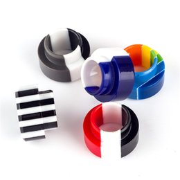 goon rda resin drip tip 2021 - Rainbow SS Resin Wide Bore Mouthpiece Drip Tips For TFV8 Big Baby Kennedy GOON 528 RDA TFV12 Prince Tank Atomizer
