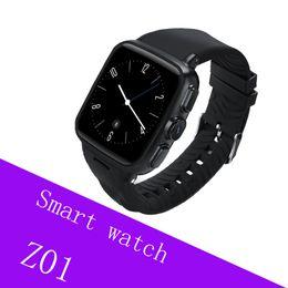 Smartwatch Gps Wifi Camera NZ - Z01 smart watch Android 5.1 Metel 3G smartwatch 5MP Camera Heart Rate Monitor Pedometer WIFI GPS reloj inteligente clock