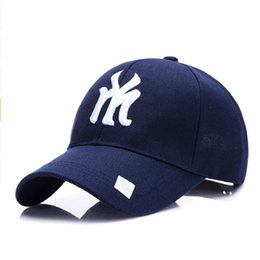 c5b312eaca4 Best brand unisex fashion cotton baseball cap NY snapback hat for men women  sun hat letter embroidery cap male sport bone gorra