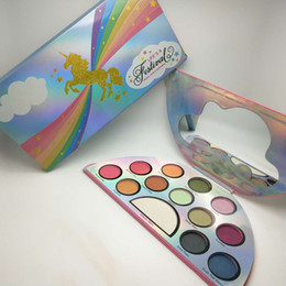Chinese  Top Quality Life's A Festival Eyeshadow Palette Rainbow Peace Love Eye Shadow 13 color Palett manufacturers