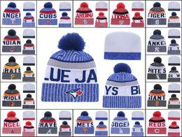 $enCountryForm.capitalKeyWord NZ - 2018 New Arrival Men's Sport Toronto Knitted Beanies Embroidered Logo Women Winter Warm Beanie Caps Cheap Los Angel Pom-Pom Cuff Beanie Hats