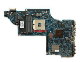 Vga Laptop Port UK - For HP DV6-6000 Series DV6T-6000 641489-001 HM65 DSC HD6770 1G Laptop Motherboard Mainboard Working perfect