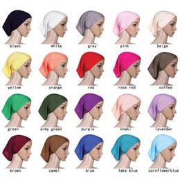 381bb39629863 MusliM bonnet cap online shopping - 30cm cm Islamic Muslim Women s Head  Scarf Mercerized Cotton