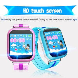 Gps smartwatch children online shopping - Q750 Bluetooth child Smartwatch with WiFi GPS AGPS LBS BDS for iPhone IOS Android Smart Phone Wear Clock Wearable Device Smart Kids Watch