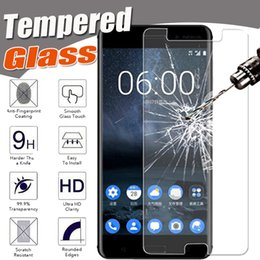 g5 screen glass NZ - Tempered Glass 9H Explosion Proof Protective Film Screen Protector For Nokia 6 5 LG G6 G5 Sony Xperia Z5 Permium Z5 Plus M10 HTC One Max