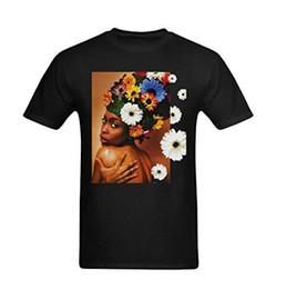 $enCountryForm.capitalKeyWord Australia - Adults Casual Tee Shirt Short Sleeve Erykah Badu Sexy Back Flower Design Fashion Crew Neck T Shirts For Men