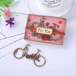 Flip Iron NZ - Elephant Bicycle openers Heart Shape LOVE Flip Flops Mr. and Mrs opener Metal Bottle Opener Wedding Favor