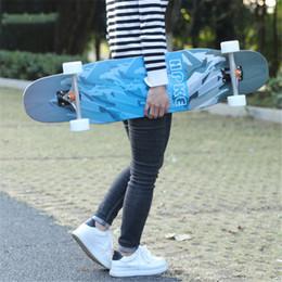 Discount skateboard decks - Professional Dance Board Skate Longboard Skateboard Deck Downhill Cruising Freeride Freestyle Dancing Longboard For Kind