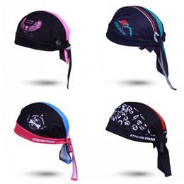 Helmet summer online shopping - Polyester Fiber Cap Sweat Uptake Dust Proof Sunscreen Bike Helmet Spider Pirate Angel Skull Head Pattern Comfortable Hat cya B