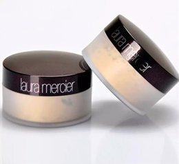 Translucent laura merci Maquillage en poudre à prise libre, 3 couleurs, transparent, fixant, illumine le correcteur avec la boîte 29g en Solde