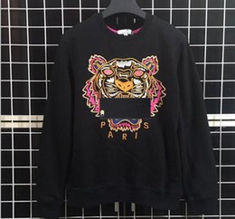 Bape tiger online shopping - New Brand Hoodies Sweatshirts Men Tiger Head  Embroidery Eye Winter Women 006fe5f57
