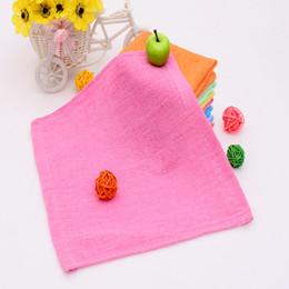 $enCountryForm.capitalKeyWord NZ - Colorful Small Square Towel 25x25cm Custom Gift Giveaway Towel Absorbent Hand Towel Hotel Cotton Napkin Handkerchief Kitchen Rag RE67654