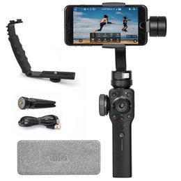 stabilizer smartphone 2019 - Zhiyun Official Smooth 4 Handheld Gimbal 3-Axis Portable Gimbal Stabilizer for Smartphone like iPhone Sumsung Vlogger Mu
