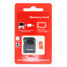 Tf microsd card online shopping - 2018 NEW Handisk High Quality MicroSD Memory Card GB GB GB GB MB Micro SD Card With Adapter Package microSDXC