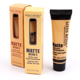 $enCountryForm.capitalKeyWord Canada - Hot Makeup MISS ROSE Liquid Foundation Faced Concealer highlighter makeup Fair Light contour Concealer Base Makeup