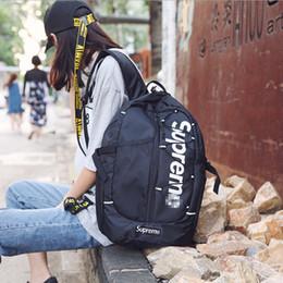 Hottest college backpacks online shopping - Hot Sale Brand designer Backpack Fashion Trends Backpack Korean Personality Bag Men s College Sports and Leisure Computer Travel Bag