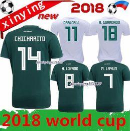size S - XXXL18 19 MEXICO SOCCER JERSEYS 2018 2019 world cup CHICHARITO  CHUCKY LOZANO DOS SANTOS HERRERA LAYUN football shirt Free shipping fe515df55