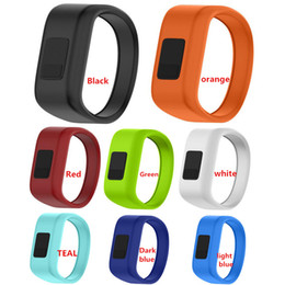 Venta al por mayor de Nueva llegada Reloj de pulsera Banda de silicona suave Correa de reloj de repuesto para relojes inteligentes Garmin Vivofit JR
