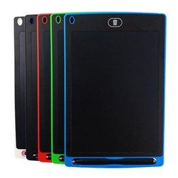 Ingrosso 8.5 pollici da scrittura tablet lavagna da disegno lavagna pastelli a mano regalo per i bambini notepad cartaceo appunti tablet con penne aggiornato DHL