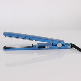 new straighteners 2018 - The new 450F 1 4 blue narrow titanium nano hair five-speed foreign trade hair straighteners discount new straighteners