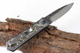 tactical gear 2019 - Top Quality Chongming CM83 Assisted Flipper Folding Knife 440C Drop Point Blade Aluminum Handle Survival tactical Gear c
