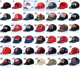 Wholesale united states baseball for sale – custom Europe and the United States popular baseball caps cotton summer men s outdoor hats sun hats