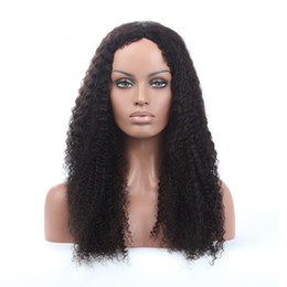 $enCountryForm.capitalKeyWord UK - 2018 10a grade pretty beauty aaaaaa 100% unprocessed remy virgin human hair natural color long afro curly full lace wig for women