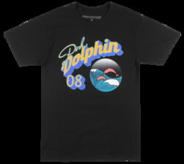 3xl Purple Pink Dolphin Shirt Australia - PINK DOLPHIN PORTRAIT BUBBLE T-SHIRT BLACK MENS LEGENDS STREETWEAR TEE NWT Funny free shipping Unisex Casual